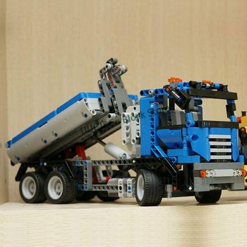 LEPIN 20027 720Pcs Technic series Dump truck truck  Building Blocks   Bricks Toys For Children  Gift pollutants spread around gweru dump site