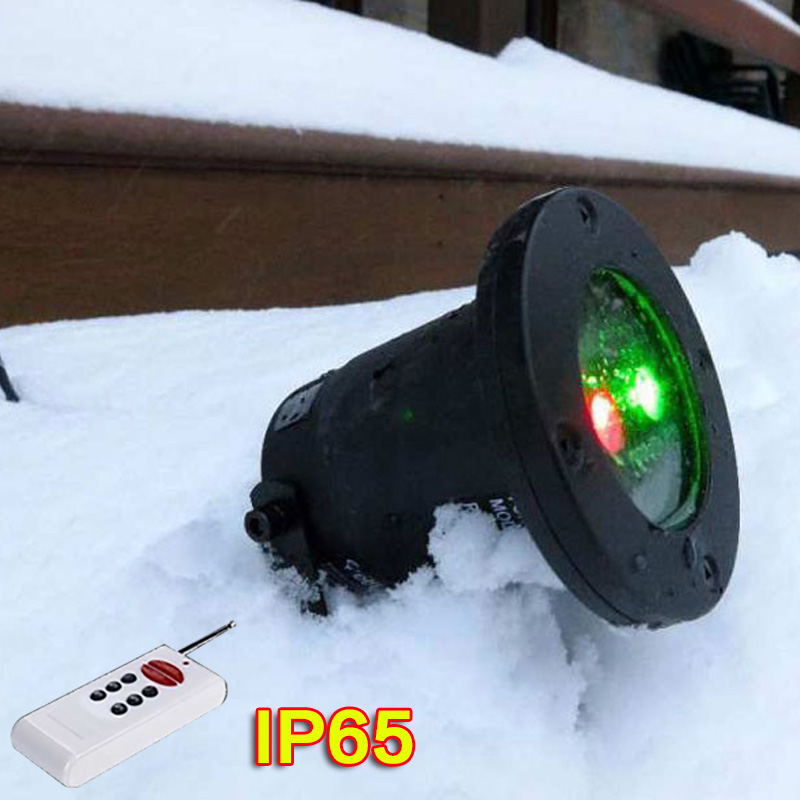 ФОТО New US plug Red Green Xmas Decoration Holiday Light Star Projector IP65 Waterproof Landscape with remote Control