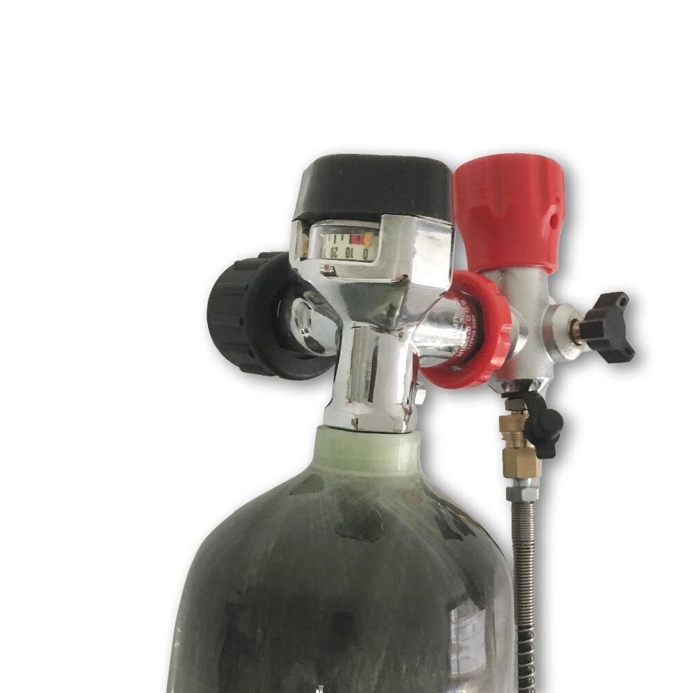 AC103201  Compressed Air Gun 5 5 Cylinder Pcp 3L Condor Scuba Tank Gas Station M18*1.5 For  Rifle mini bottle dive