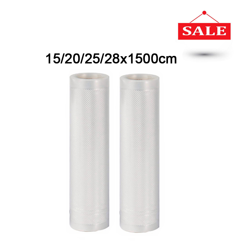 2 Roll Lot 15 20 25 28x1500cm Household Vacuum Sealer