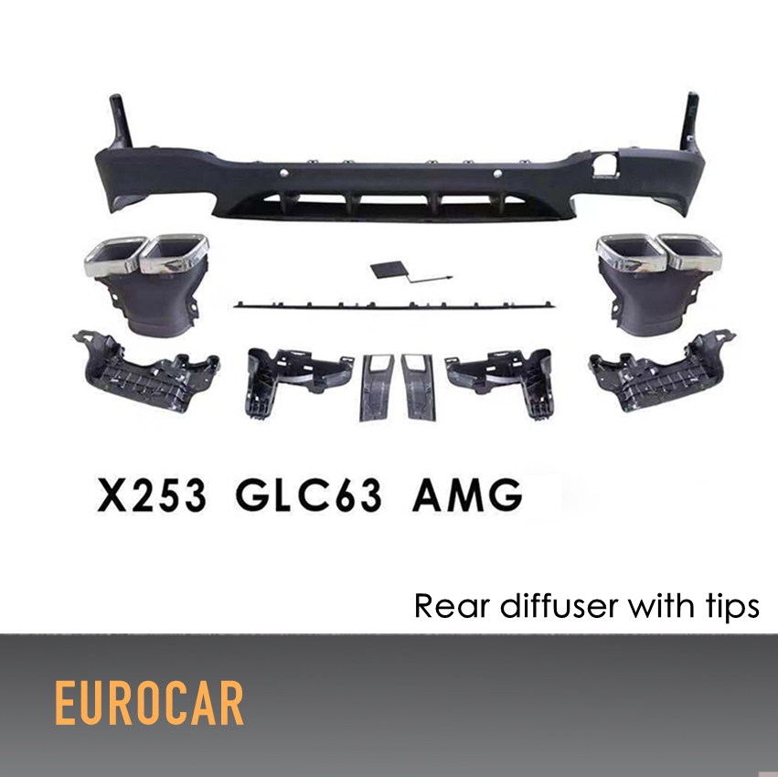 Detail Feedback Questions about GLC63 PP rear diffuser lip
