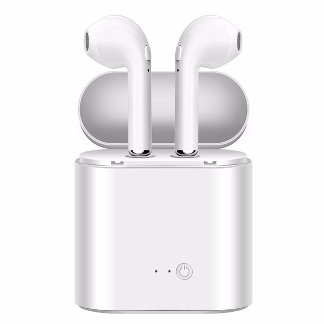 i7S TWS Wireless Bluetooth Earphones Mini In-Ear Stereo Earbuds Music wear headset for iPhone Samsung Xiaomi Earphone.