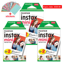Original Fuji Fujifilm Instax Mini 8 Film 60 pcs White Edge Photo Papers For Polaroid 9 7s 8 90 25 55 Share SP-1 Instant Camera(China)