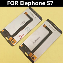 """Original LCD FOR Elephone S7 LCD Display+Touch Screen Digitizer Assembly Replacement Accessories For Phone 5.5"""""""