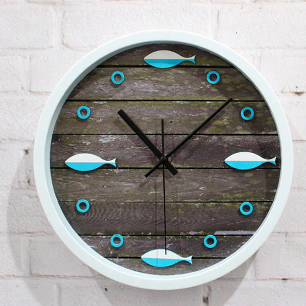 Popular fish wall clocks buy cheap fish wall clocks lots for Fish wall clock