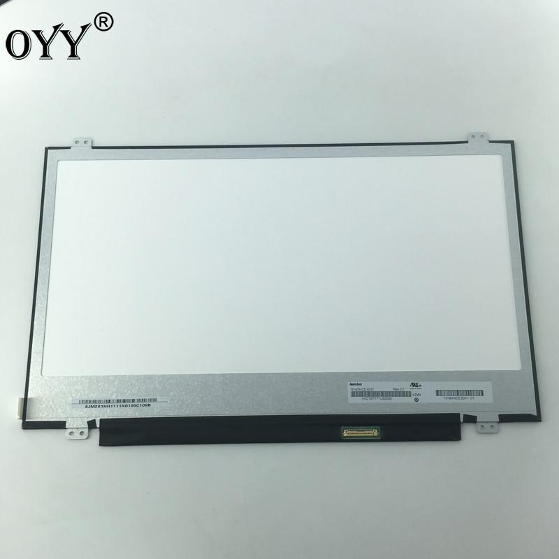 14 LED LCD Screen NV140FHM-N62 N140HCA-EBA N140HCE-EN1 Laptop Display screen Matrix For Asus Zenbook UX410 U410UQ