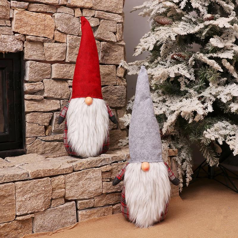 Navidad 2018 European Style Christmas Dolls Christmas Decorations ...