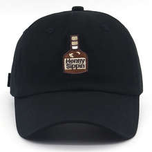 New henny Wine bottle embroidery baseball cap cotton adjustable henny dad hat for women men hip hop snapback hats all matched 24 vac relay for henny penny hen60818