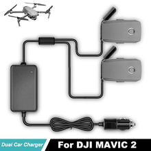 цена на New Intelligent Vehicle Charging Adapter DJI Mavic 2 Car Charger For DJI Mavic 2 Pro Zoom Drone Battery outdoor Fast Charger