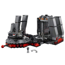 New Star Wars Snoke's Throne Room Compatible Legoingly StarWars 75216 Model Building Blocks Bricks Children Toys Christmas Gifts цена в Москве и Питере