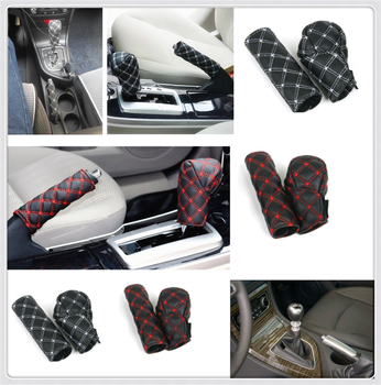 Car decoration shell hand brake shift gear box cover for Kia RIO K3 K4 K5 Sportage SORENTO venga Hyundai Avante Sonata image