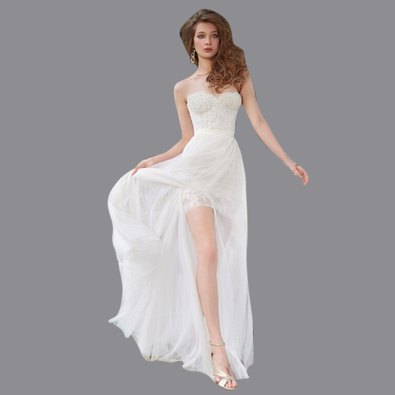 Sheath Sweetheart Short Vintage Wedding Dress Sexy