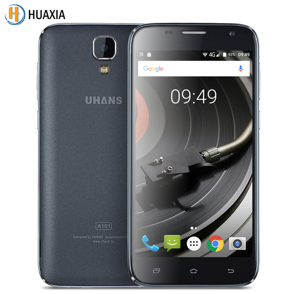 Original UHANS A101 Quad Core 5.0 Inch Mediatek MTK6737 1.25Ghz Android 6.0 1GB RAM 8GB ROM 4G FDDLTE 2450mAh Smartphone