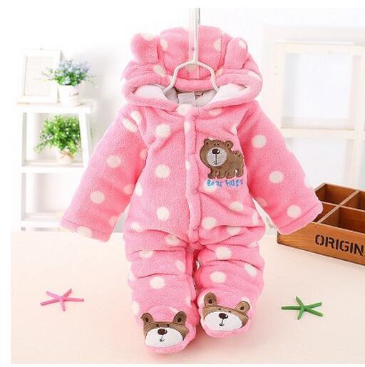 Romper do bebê terno espessamento qiu dong roupa ha roupas de bebê outono roupas de inverno para homens e mulheres de inverno de algodão puro pano