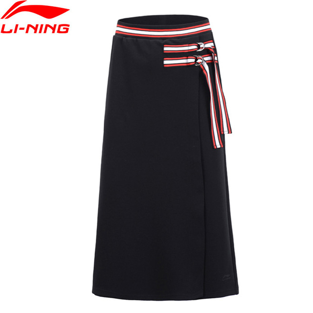 Li-Ning Women The Trend Skirt Shorts Regular Fit 70% Cotton 30% Polyester Hit-Color LiNing Sports Bottoms ASKP026 WKQ072