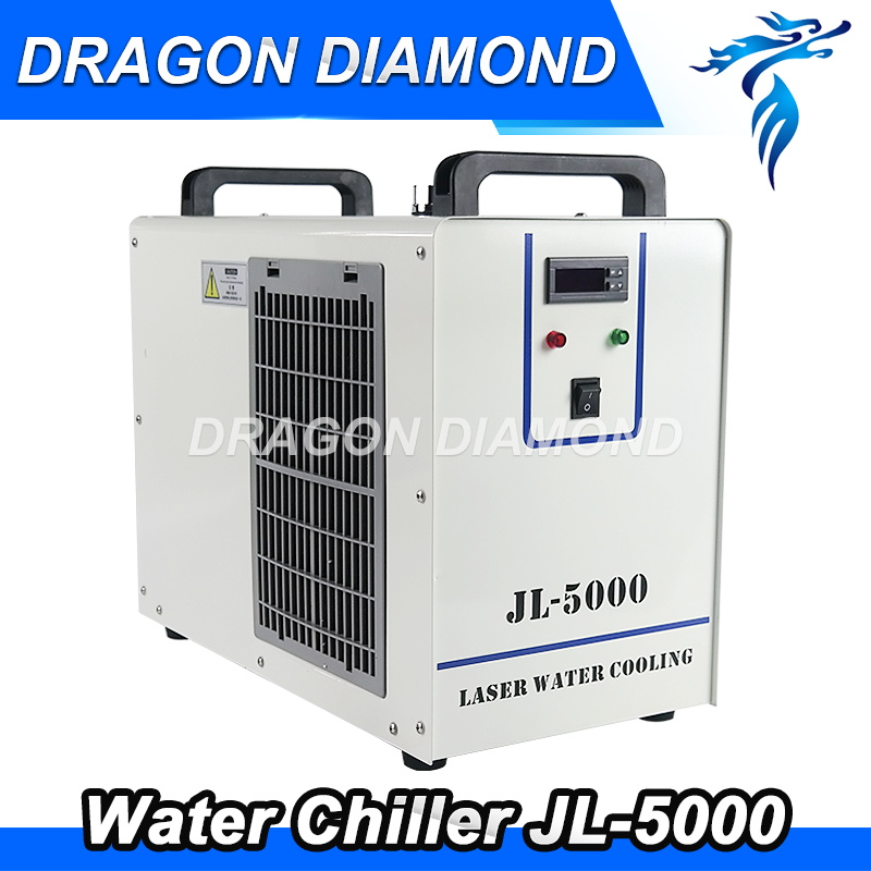 цена на CO2 Laser Machine Spare parts S&A JL5000 Industrial Water chiller for co2 laser cutting engraving machine cnc rourter machine