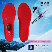 Buy BEST GIFT NEW ARRIVAL USB Electric Powered Heated Insoles For Shoes Boots Keeping Feet Warm directly from merchant!