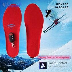 El mejor regalo plantillas cálidas climatizadas suelas de invierno de felpa gruesa plantillas con piel mantienen los pies calientes y cómodos para los zapatos de los hombres y las mujeres