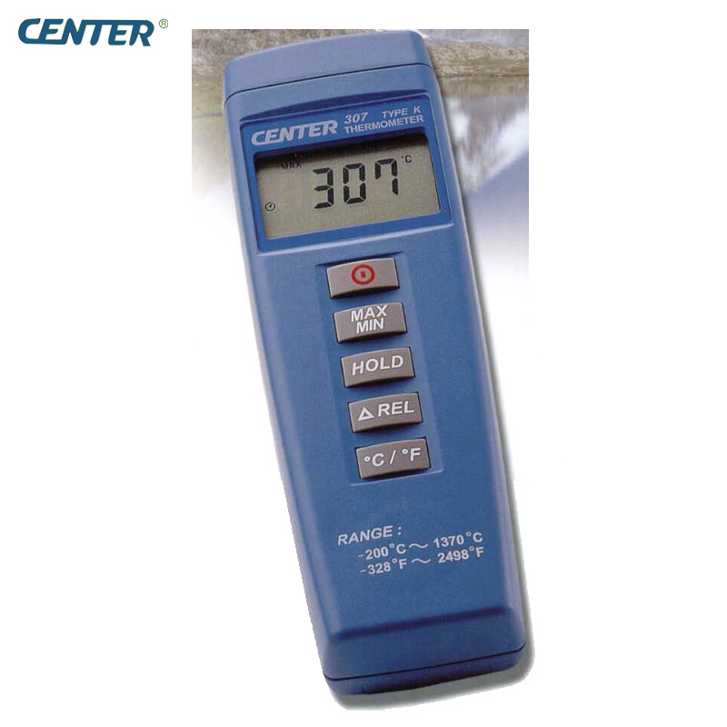 CENTER-307 Digital Compact Low Cost Thermometer