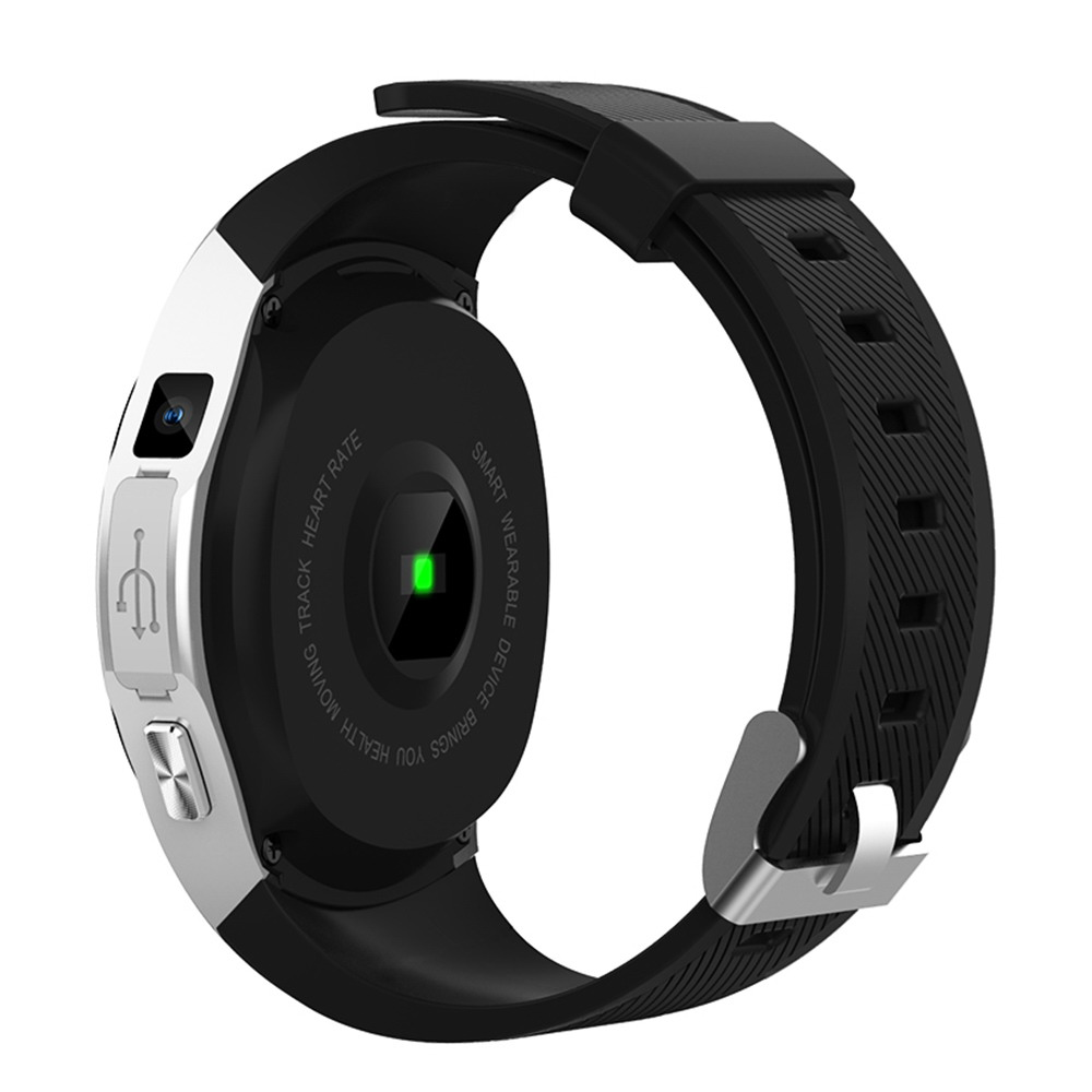 Makibes G05 Pro GPS Bluetooth MTK2503 fréquence cardiaque tensiomètre réponse appel caméra multi-mode sport montre intelligente - 2