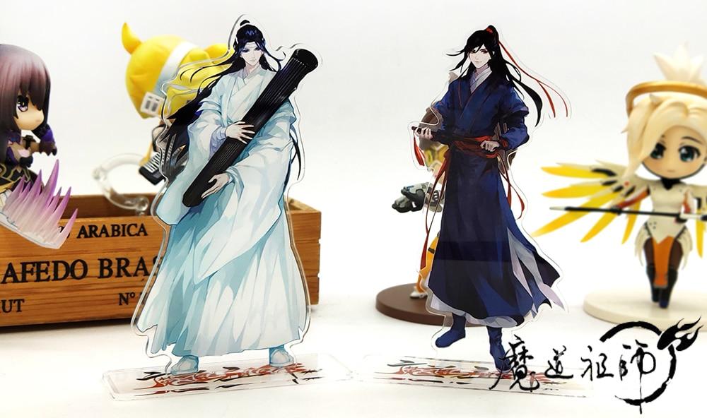 Mo Dao Zu Shi Wei wuxian Lan wangji Casal Boneco Suporte De Acrílico Modelo Anime Brinquedo
