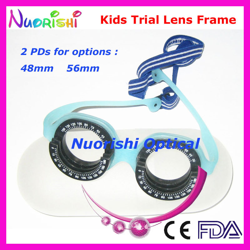XD07 Kids Professional Optometry Vision Test Optical Trial Lens Frame for Children Only 23g Doprava zdarma