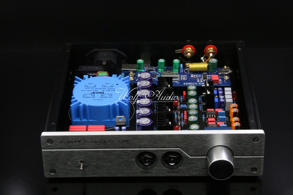 New Finished DIY HIFI A2 PRO Headphone Amplifier PCM2706 ES9023 USB DAC Decoder Reference Beyerdynamic A2