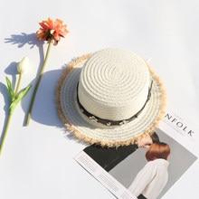 a97232b36 Chapéu de palha feminino verão pequeno puro e fresco e compras de lazer é  impedido aquecer