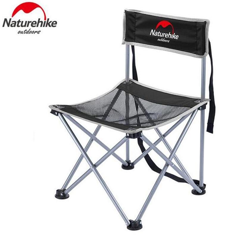 Chaise de pêche pliante Ultra légère Portable naturetrekking siège pour Camping en plein air loisirs pique-nique chaise de plage autres outils de pêche