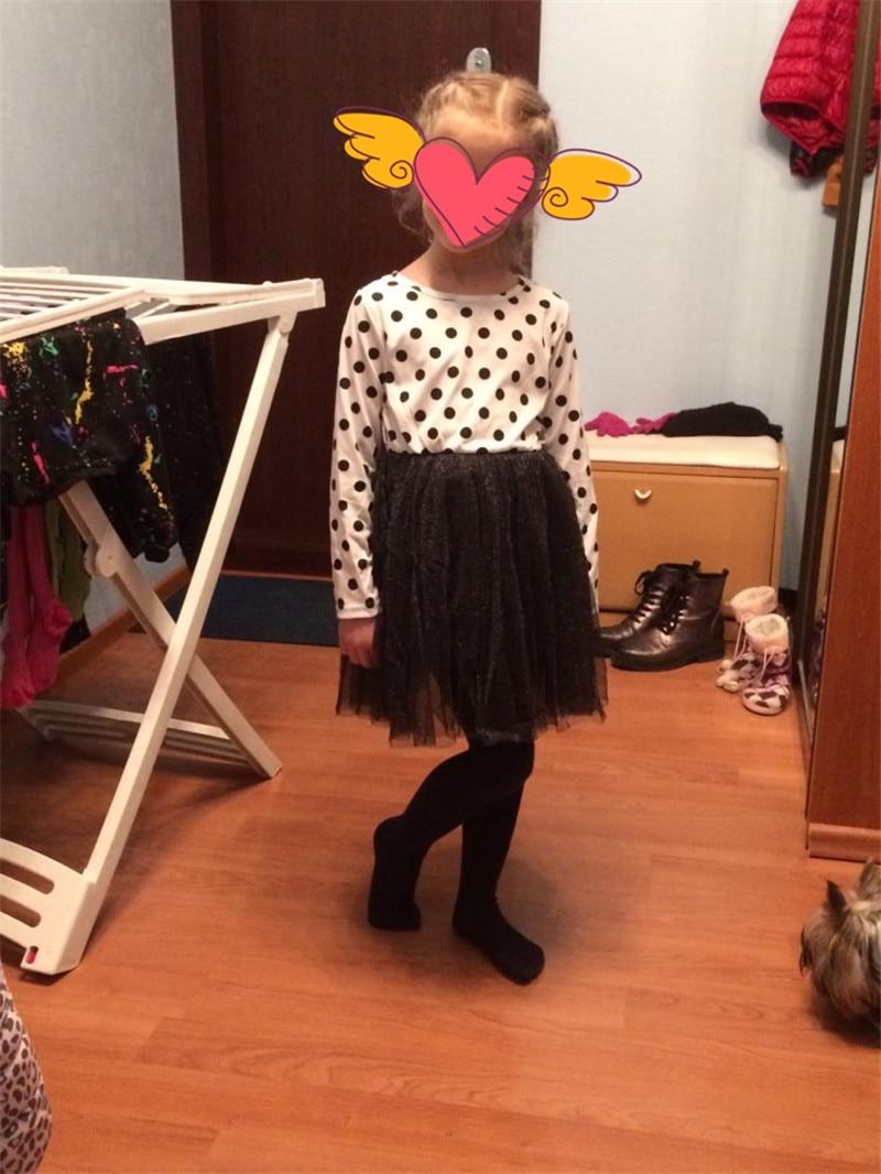 HTB1rSV9vpmWBuNjSspdq6zugXXaK 2019 Autumn Winter Girl Dress Long Sleeve Polka Dot Girls Dresses Bow Princess Teenage Casual Dress Daily Kids Dresses For Girls