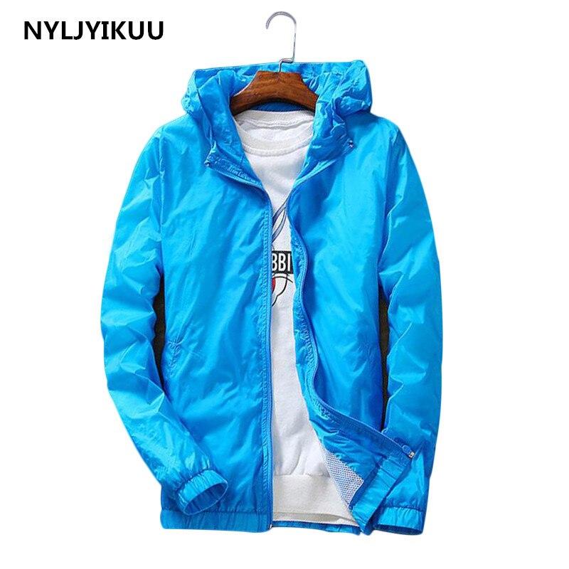 Jackets Women Brands coat High Quality New Jacket Women's Hooded Women Jacket Fashion Thin Windbreaker Casual Solid colour Coat