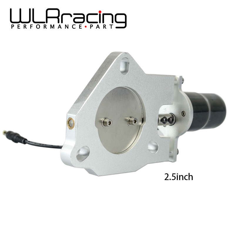 WLRING STORE 2 5 inch Universal Exhaust Cutout Billet Butterfly valve High Motor Brand New 2