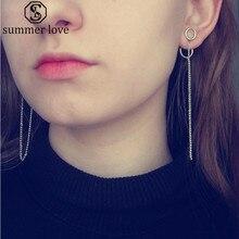 New Silver Girls Women Stud Earrings Korean Fashion Jewelry Accessories For Mens And Womens Earring Dropshipping 1pcs цена в Москве и Питере