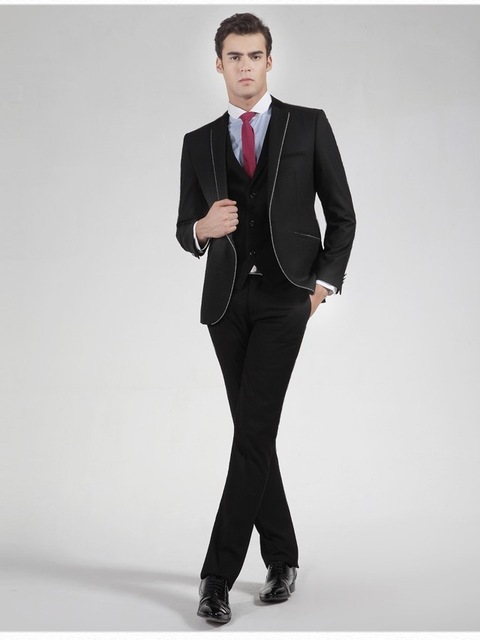 2017 New Tuxedo For font b Men b font Special Design Collar font b Men b