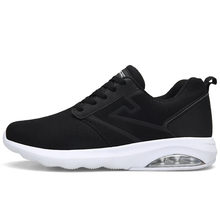 Man Running Shoes Men Nice Zapatillas Athletic Trainers Black Sports Shoe Air Cushion Outdoor Jogging Walking Sneakers 8(China)
