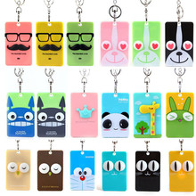 Popular 3d plastic business cards buy cheap 3d plastic business figure badge holder accessories id card holder lovely 3d cartoon credit card bus door card case reheart Choice Image