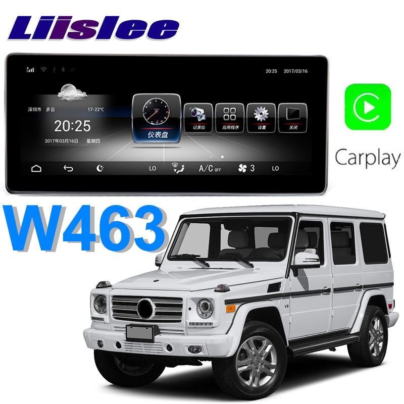 Liislee Car Multimedia Player NAVI For Mercedes Benz MB G Class W463 G270 G280 G300 2013~2018 Car Radio Stereo GPS Navigation цена
