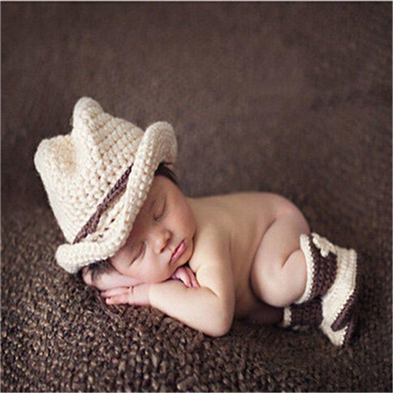 Infant Baby New Batman Photography Props Superman Spiderman Newborn Baby Costume Outfit Handmade Crochet Beanie Cap Baby Costume