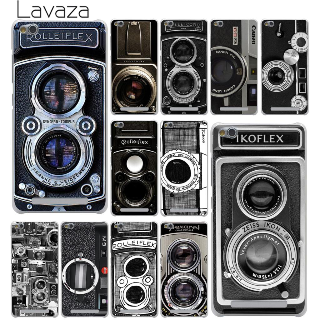 Lavaza Vintage Camera Hard Phone Case for Xiaomi Redmi Mi 8 SE A1 6 5X 5S Plus MiA1 Mi6 Note 5 Pro 4 4X 4A 5A Prime Mi8 Cover