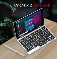New arrival OneMix 2 Pocket laptop 7 Mini Pocket notebook FOR Windows 10.1 System CPU M3 7Y30 RAM 8GB ROM 256 GB free shipping
