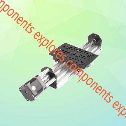 250mm Openbuilds V-slot NEMA 17 ACME Lead Screw Linear Actuator v slot nema 17 linear actuator bundle diy belt driven kit with nema 17 stepper motor for openbuilds 250mm