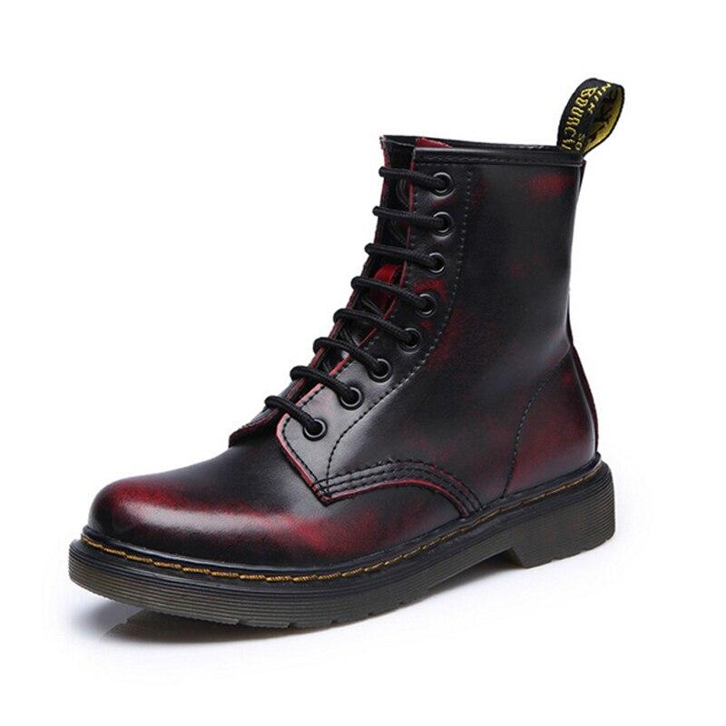 Зимние мужские ботинки на шнуровке, Chaussure, высокое качество, Martins, Marten Maillot Equipe De France, Мужская зимняя обувь