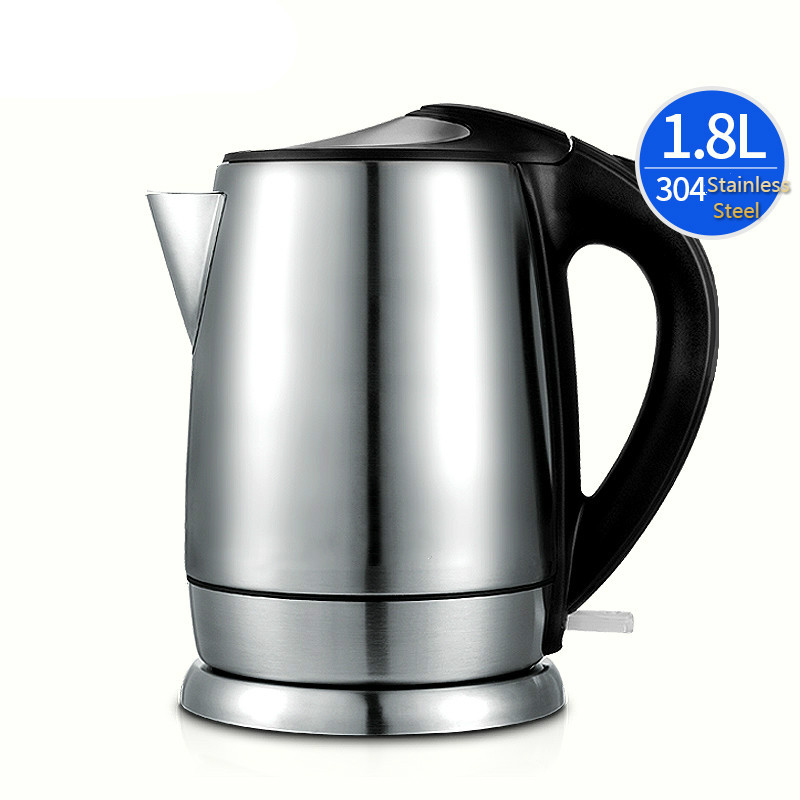 Electric kettle boiler 304 stainless steel electric quick pot home cooking boiling electric kettle boiling pot 304 stainless steel home insulation 1 5l