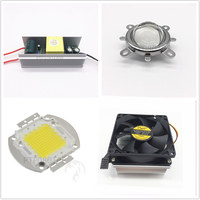 100W  High Power White LED Light + Heatsink Cooler+100W LED Driver