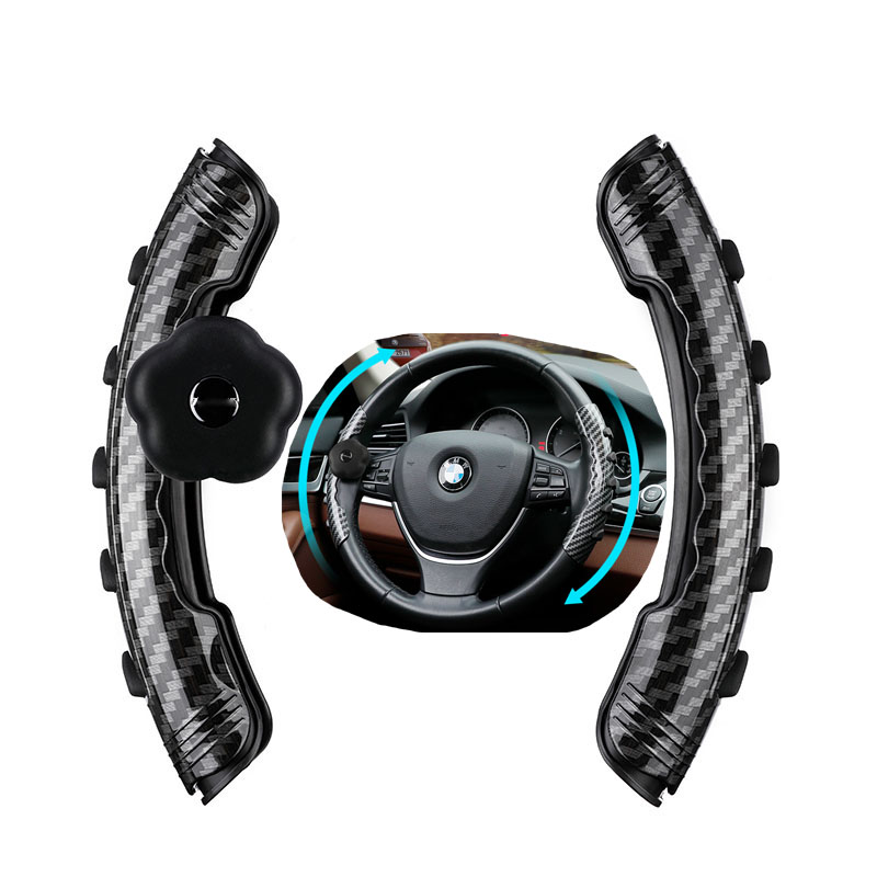 Steering Wheel Spinner Knob Interior Accessories Steering Wheel Suicide Spinner Booster Steering Wheel Cover for Car Vehicle(China)