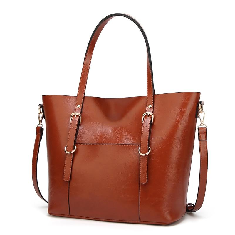 DIMINUTIVE 2018 Sales Promotion Women bags Original Leather Luxury Designer Handbag Vintage Totes Female Briefcase Laptops Bag promotion women