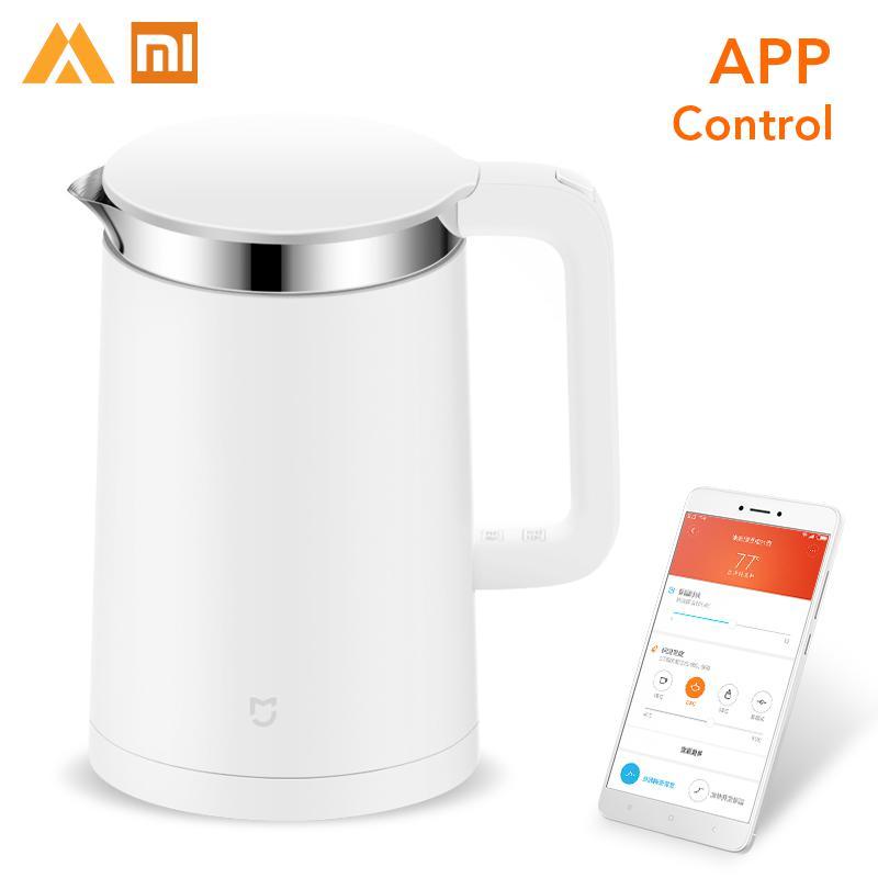 Original Xiaomi Electric Watre Kettle 1 5L Capacity Water Constant Temperature Control Water Bottle Mi APP