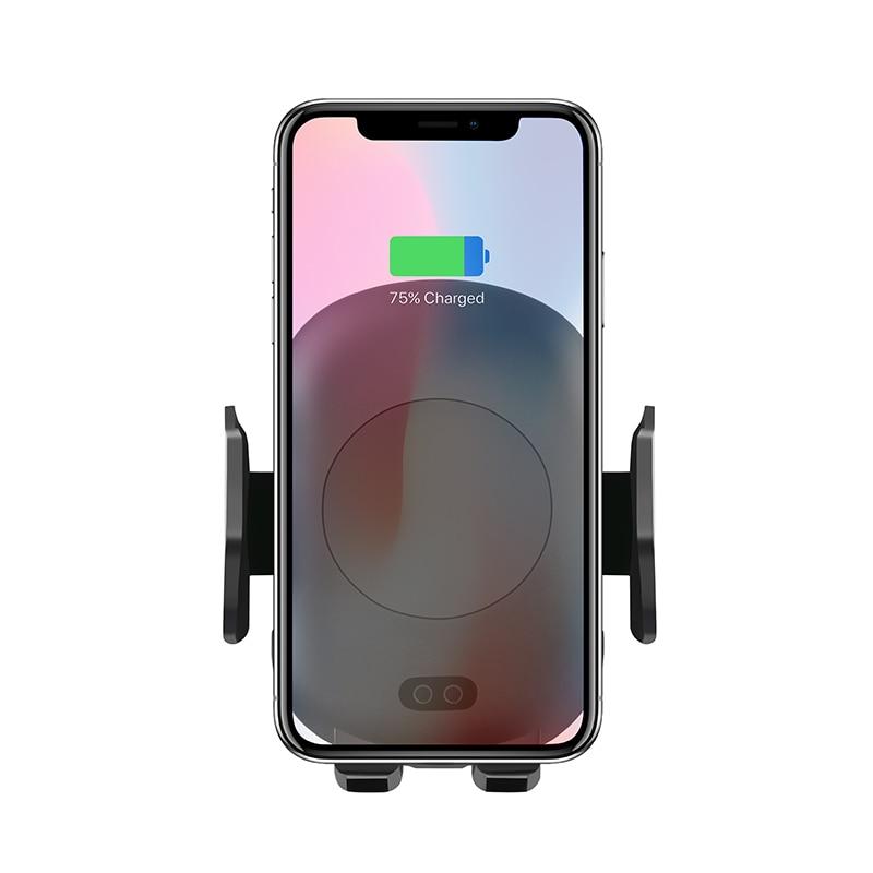 Aiyima 10 w QI Sans Fil Chargeur Rapide Sans Fil Chargeur De Voiture Automatique Induction Support de Téléphone De Voiture Pour iPhone XS MAX XR 8 Samsung S9