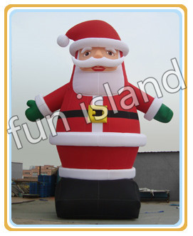 Free shipping new style durable factory direct sale outdoor giant 20ft christmas inflatable santa shipping free new arrival factory direct jackson style electric guitar rock voice metal feeling support customization picture