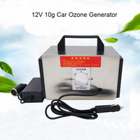 12V 10g Ozone Generator Car Purifier AUTO Air Cleaner home ozone disinfection Sterilizer Portable Ozoner With Timing Switch